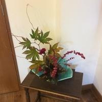 いけばな 深まる秋 想い花のサムネイル
